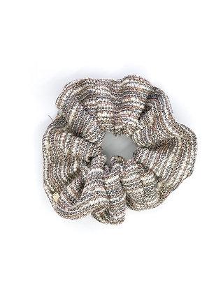 Elástico de Cabelo Scrunchie Tweed
