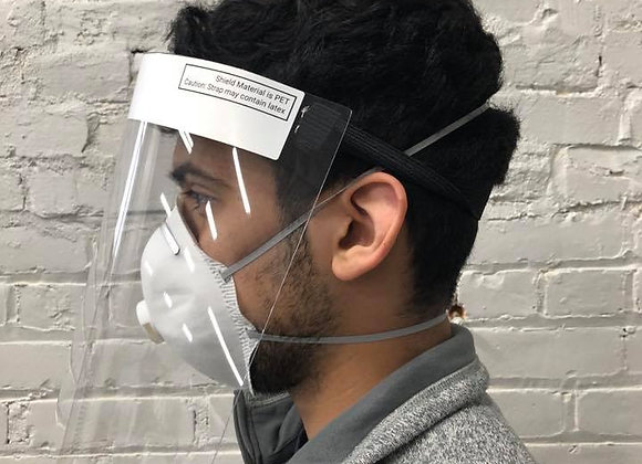 5 Pack of USA Made Face Shields