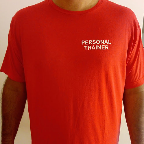 Camisa masculina vermelha