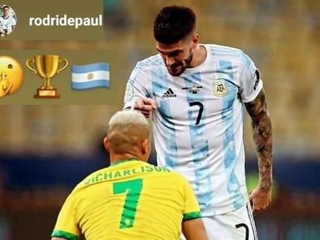 Fútbol: Derrota de Brasil vs Argentina se vuelve tendencia en Instagram