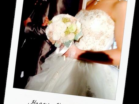花嫁様から♪