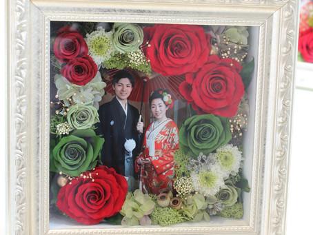 結婚披露宴 贈呈用のお花