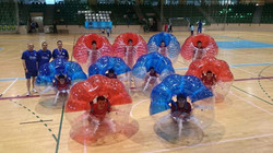 Futbol burbuja naturpellet