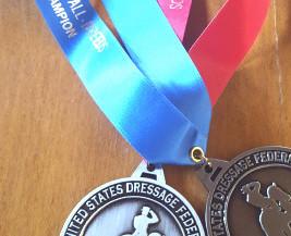 American Rhineland Studbook's 2017 USDF All-Breeds Awards Winners!