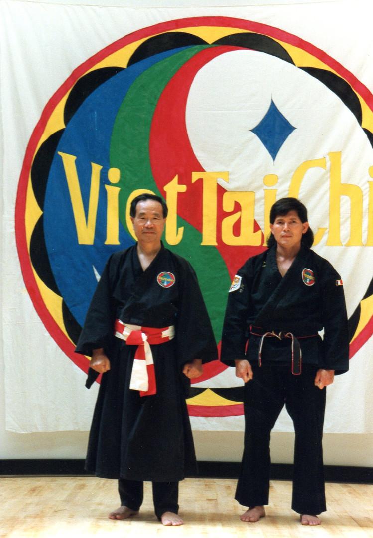 Maître Phan Hoang Viêt Tài Chi