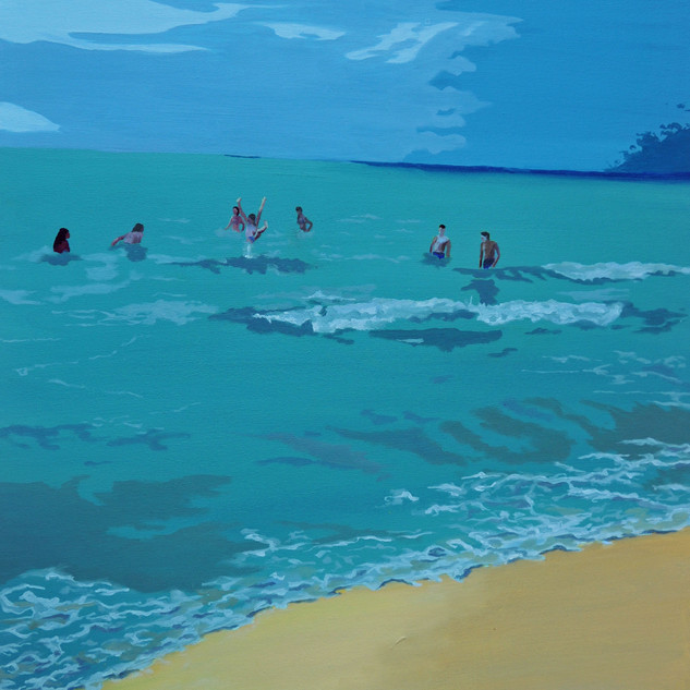 Summer time - Beach scene I