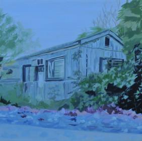 Sweedish shed on the kibbutz