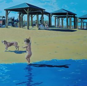 Summer time - Beach scene II