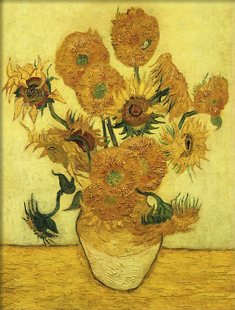 art-of-vincent-van-gogh-sunflower-series