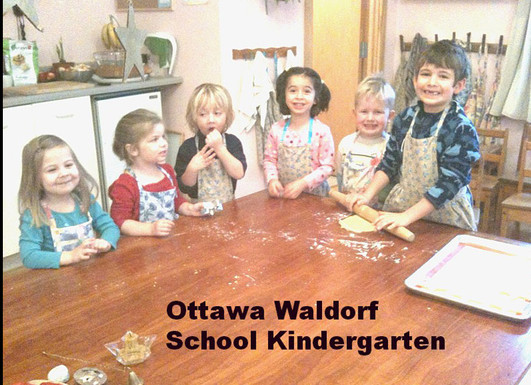 Ottawa Waldord School kindergarten