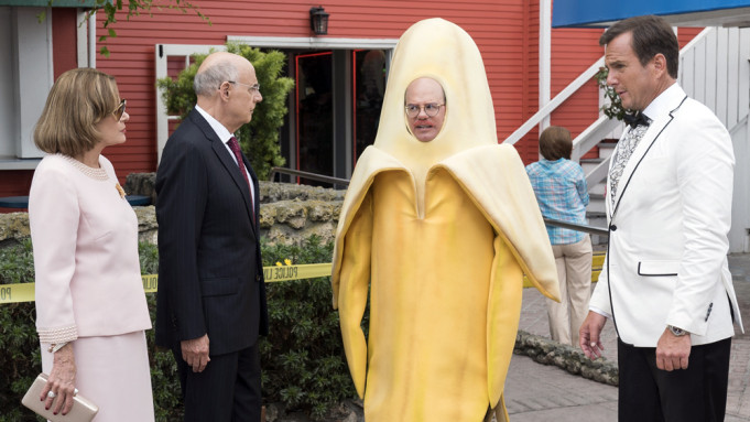 When your costume is a banana.