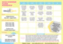 New Update- 2020 Summer Class Schedule (