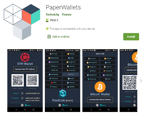 Awesome addition to the bitconnect community toolbox from the XBTS.io decentralized BitShares BTS exchange & SmartHoldem DEX Games! Keep phunds' SAFU with the PaperWallet generator application, on GitHub & Android.