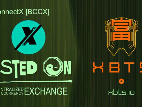 BCCX Added To BitShares DEX Gateway The XBTS Exchange