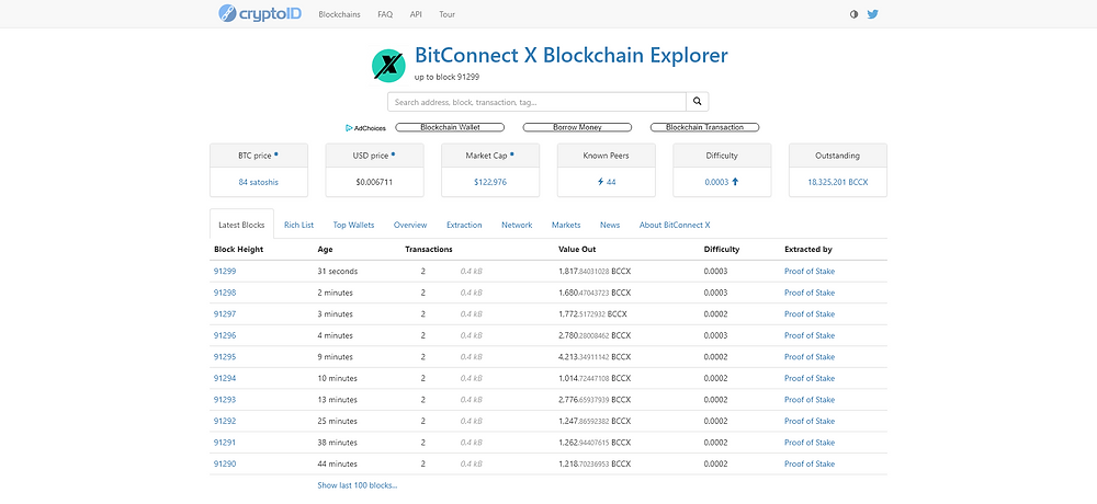 The bitconnectX blockchain, BCCX / BitConnect X / bitconnectX Genesis, was created 8th Of July 2019 by the miners of the original blockchain, BitconnectxPool.  From the bitconnect Open-Source.