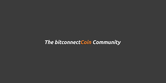 The bitconnectCoin Community.png