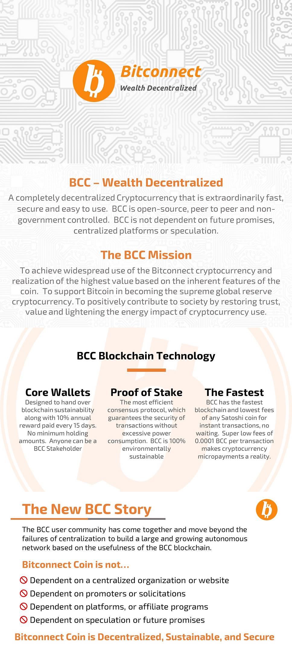 bitconnect Community 2018