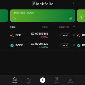 BCC Data Is Live Under The Original Listing On Blockfolio