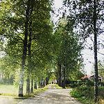 小道を抜けた先にはこんな建物が‥_ここはフィンランド 1美味しいとされる #ティ