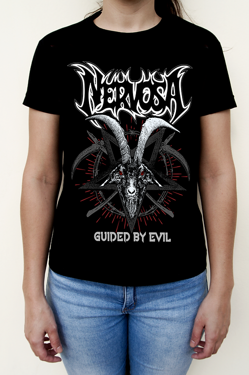 CAMISETA FEMININA - Guided By Evil
