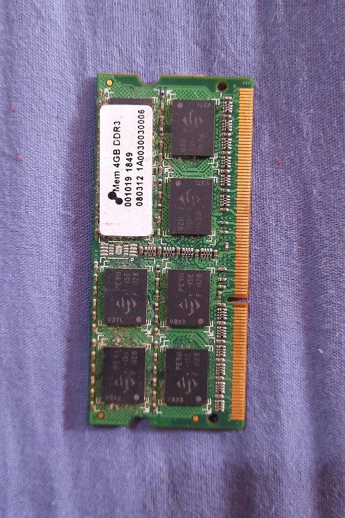 Memória Ram DDR3 - 4GB