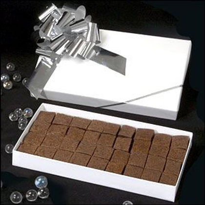 Caramel Brownies White Box - Big Bow (Sizes Available)