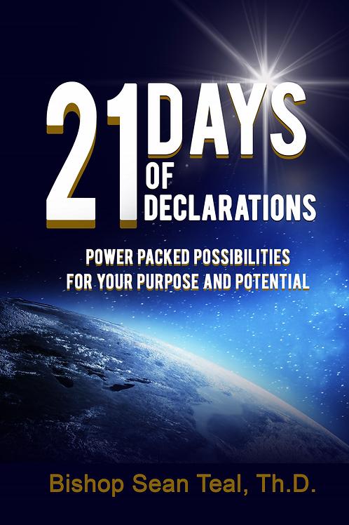 21 Days of Declarations (E-Copy)