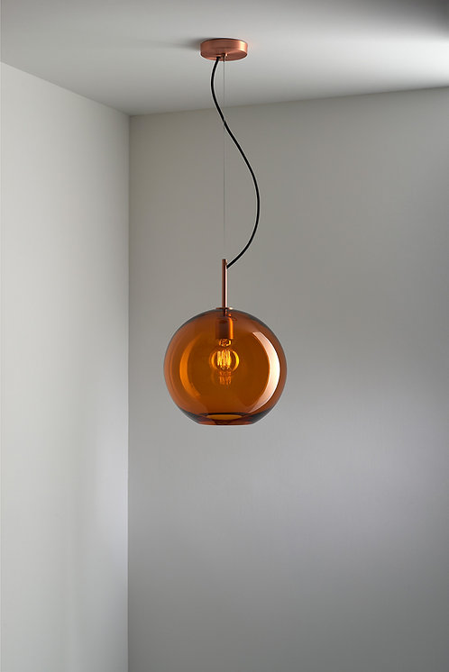Sasha Amber  Pendant Light