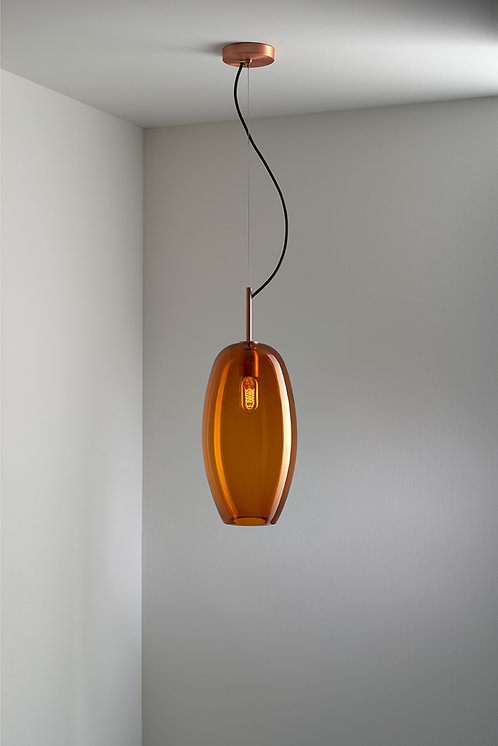 Ilona Amber Pendant Light