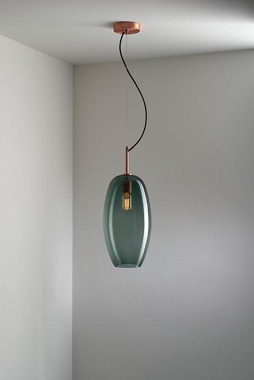 Ilona Blue Smoke Pendant Light