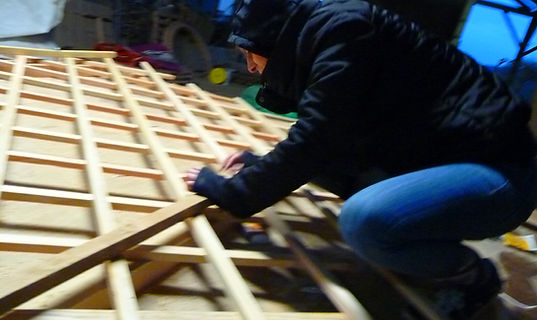 fabrication du treillis