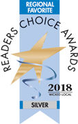 Silver Readers Choice Regional Favorite Salon 2018
