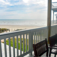 Beach View from House