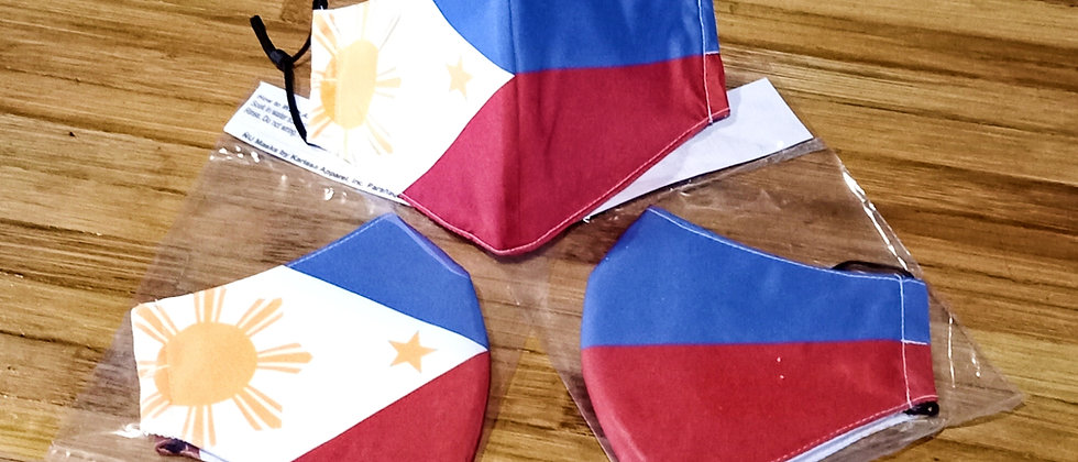 Philippine Flag Facemask
