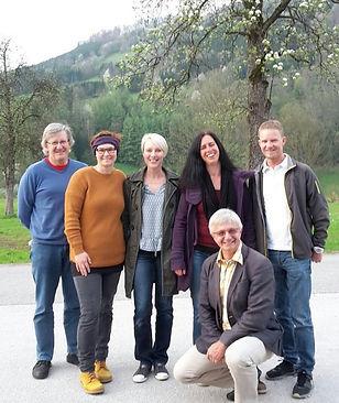 Hugo Mayer, Nicole Kerschbaumsteiner, Karin Katzensteiner-Treml, Sigrid Gruber-Barth, Berthold Pree und Jürgen Leppen