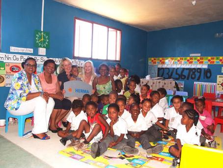Herma GmbH sponsored den neuen Klassenraum der Pre-Primary School