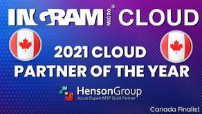 Ingram Cloud 2021 Cloud Partner of the Year