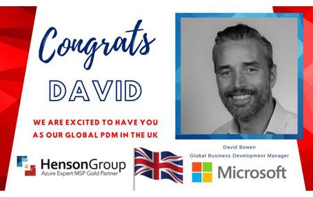 Global DPM David Bowen