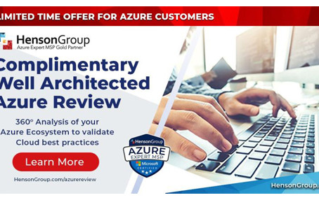 Complimentary Well-Architected Review