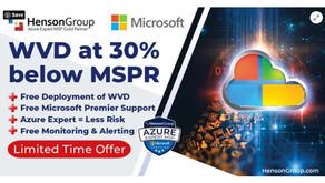 WVD at 30% below MSPR