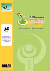 CAPA REVISTA FAP ACADEMIC RESEARCH 2019.
