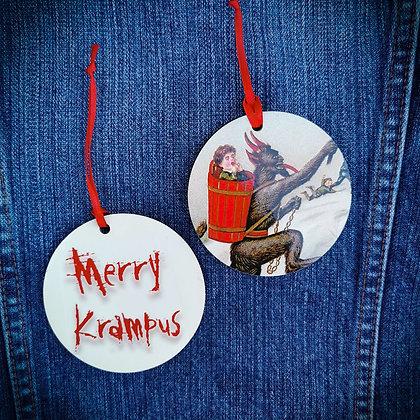 Running Krampus Hanging Decoration