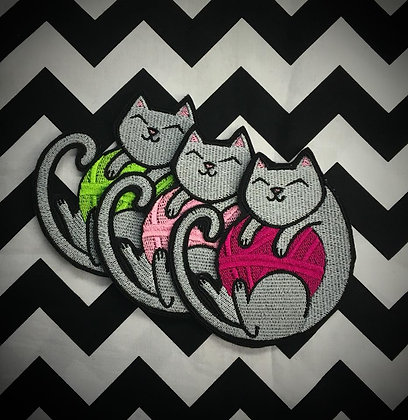 Yarn Kitty Patch ( one supplied )