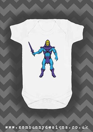 Skeletor Baby Vest
