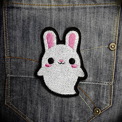 Cute Ghost Bunny Patch
