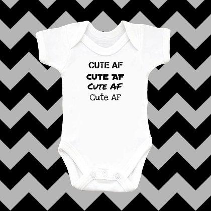 Cute AF Baby Vest