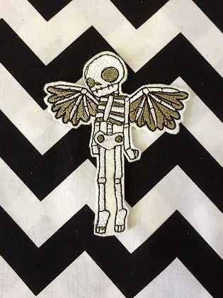 Winged Skeleton Patch