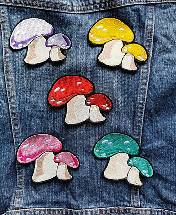 Mushroom Patch (one supplied)