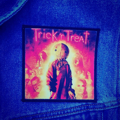 Trick r Treat Printed Patch