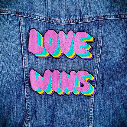 Love Wins Large Patch